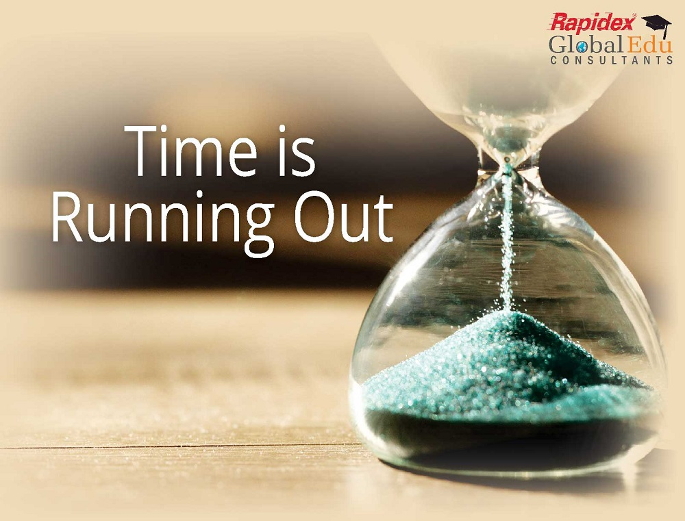 Time is Running Out – Rapidex Education